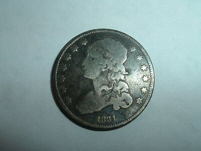 1831 CAPPED BUST QUARTER  ~ No Reserve