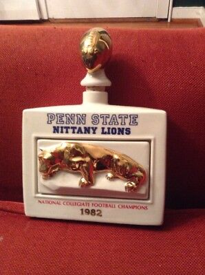 Penn State Nittany Lions 1982 NCAA Football Champions Michter's Decanter