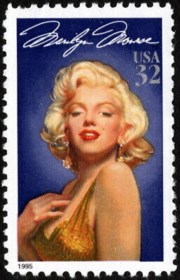 US - 1995 - 32 Cents Marilyn Monroe Legends of Hollywood Issue #2967 Mint NH VF