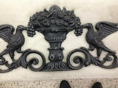 Rare Connecticut 18Th C Wrought Iron  Decorative Above Door From Mansion Dream