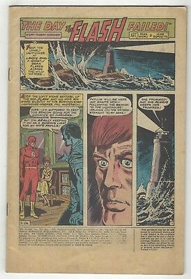 Flash 192! Coverless! Great Silver Age Dc Comic Book!