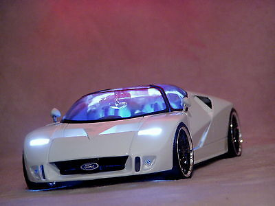 Ford GT90 1:18 6.0 V12 720 PS Tuning Xenon GT40 GT Mustang Galaxy Shelby