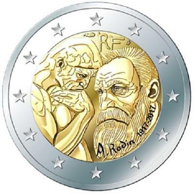 France 2017 Auguste Rodin 2017 in France Proof in Box