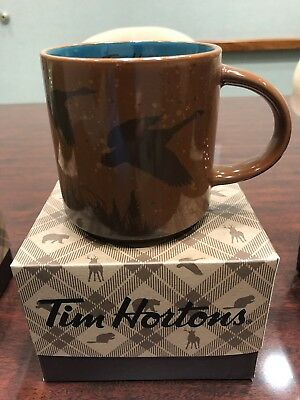 New 2017 TIM HORTON CHRISTMAS COFFEE MUG GOOSE RARE