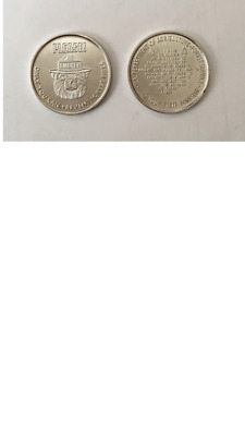 Lot Of 2 Smokey The Bear Coins - Dept Of Agriculture - Forest Services