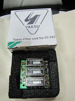 Yaesu SSB/CW Filter Unit F2944101 Einheit  für FT 747 GX , FT 80 C