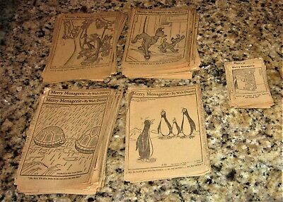 160 King Features 1947-50 Merry Menagerie Newspaper Clipping Walt Disney Comics