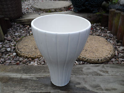 Beautiful vintage white vase made in Vietnam