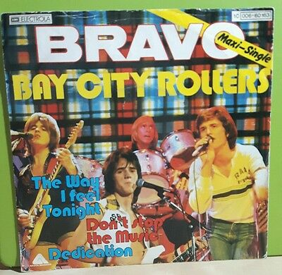 7'' Vinyl Single  Bay City Rollers  DON´T STOP THE MUSIC  3 Tracks Maxi