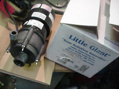 New NiB Little Giant 581614 TE-3-MD-HC Magnetic Drive Pump 230v
