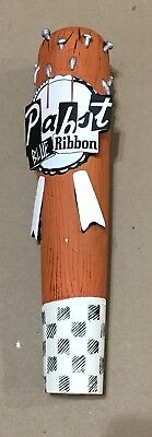 Pabst Blue Ribbon Beer PBR ART Program Tap Handle Club With Nails NIB Bat Spikes