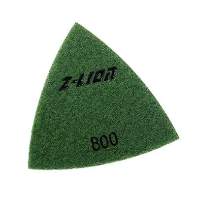 800 Grit Electroplated Triangular Polishing Diamond Oscillating Pads 93mm