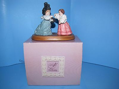Hamilton Gifts Maud Humphrey Figurine A Pleasure to Meet You Cert of Auth MIB