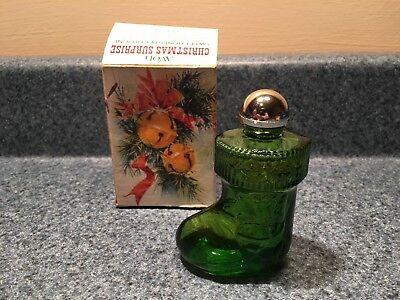 Vintage Great Condition Full Avon Christmas Suprise Sweet Honesty Cologne 1 Oz