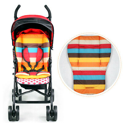 Baby Thick Colorful Infant Stroller Car Seat Pushchair Cushion Cotton Cover Mat