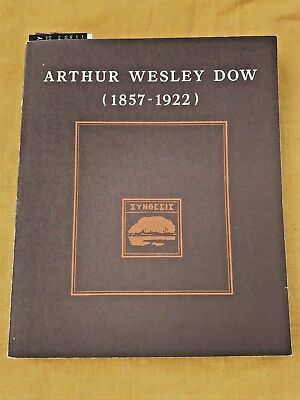 Rare Arthur Wesley Dow Book On His Arts & Crafts Designs And Woodcuts