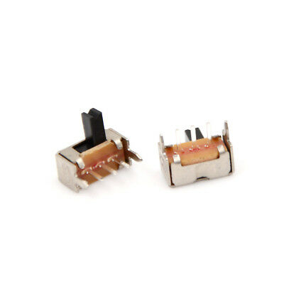 30pcs/set SK12D07 Right Angle Mini Slide Switch Power Switch 3P SPDT 2mm Pitch``
