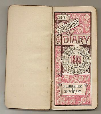 05 The 1888 Diary Of John H Kimball 1011 High St & 1014 Middle St Bath Maine