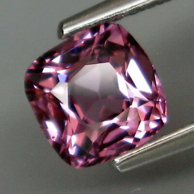 1.04Ct.Ravishing Color&Full Fire! Natural Purple Pink Spinel MaeSai,Thailand