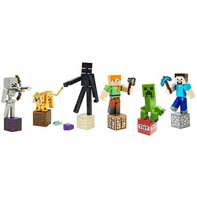 Minecraft Action Figure Up To Series 4 - Magma Cube, Steve With Arrows, Shulker