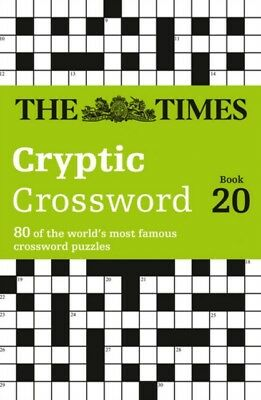 The Times Cryptic Crossword Book 20 (Crosswords) (Paperback), The. 9780008139803