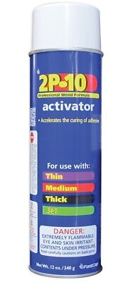 Fastcap 2P-10 SOLO ACT 12OZ Activator In Aerosol Can, 12 Oz