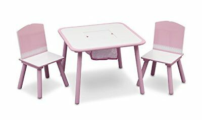 Table And Chair Set pink Tt89513gn Pink By Delta Children