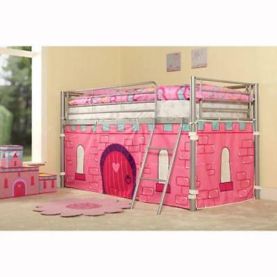 """Children's Girl's Bunk Under Bed Tent Cover Princess Castle New 28.5"""" x 152"""""""