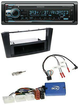 jvc bluetooth mp3 usb cd dab autoradio f r toyota avensis. Black Bedroom Furniture Sets. Home Design Ideas