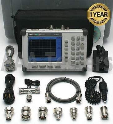 Anritsu SiteMaster S332D Cable / Antenna & Spectrum Analyzer w/ Option 3: Color