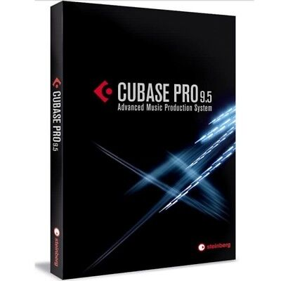 Steinberg Cubase 9.5 Pro Professional DAW Software **NEW**