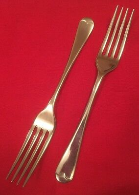 Pair Of Vintage Silver Plated Dessert Forks By William Tay & Sons c.1930's