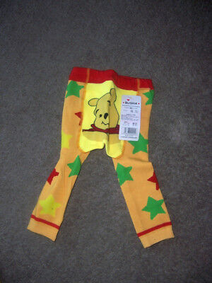 Busha baby toddler pants bottoms size 90 (12-24) winnie the pooh ylw