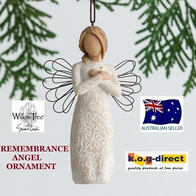 REMEMBRANCE ANGEL ORNAMENT Willow Tree Figurine By Susan Demdaco Lordi NEW