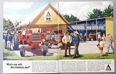 Original 1965 Allis Chalmers Tractor Ad WHATS NEW WITH A-C... ONE NINTEY XT