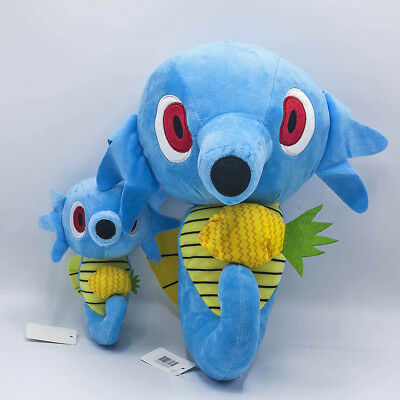 2pcs Pokemon Center Horsea Plush Doll Figure Stuffed Animal Collection Toy Gift