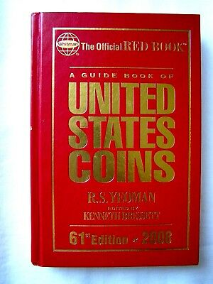 USA Official Hard Cover Red Book Guide on ALL Coins in America by R.S. Yeoman