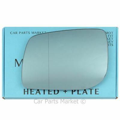 Right side Heated Blue Wide Angle wing mirror glass for Alfa Romeo 159 05-11