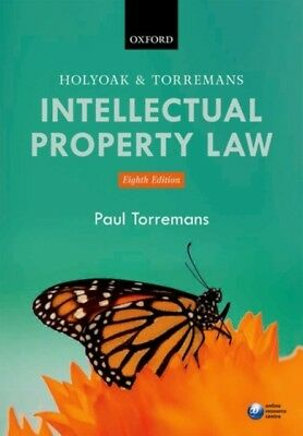 Holyoak and Torremans Intellectual Property Law (Paperback), Torr...