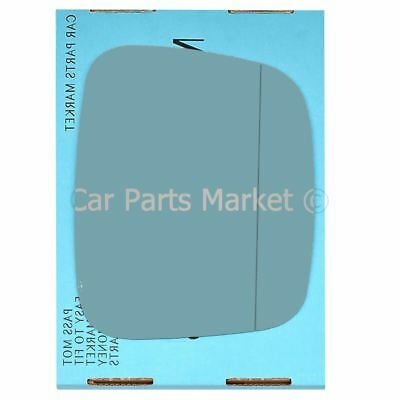 (LHD) Right side Blue Wide Angle mirror glass for Vw transporter T5 03-09 heated
