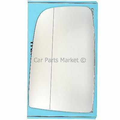 For Mercedes Sprinter 06-16 Left side Aspheric Electric wing mirror glass +plate
