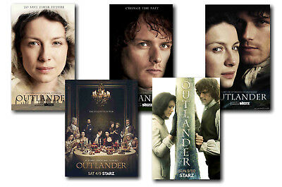 Outlander - Set Of 5 - A4 Poster Prints # 2