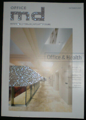 md - interior, design, architectur, Heft Okotober 2017, Office & Health
