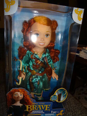 My First Disney Toddler Brave Merida Forest Adventure Bow & Arrows  Doll