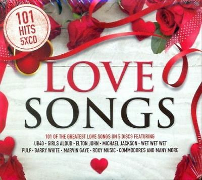 101 LOVE SONGS 5 CD BOXSET (New Release January 2018)