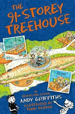 The 91-Storey Treehouse (The Treehouse Books) by Griffiths, Andy Book The Cheap