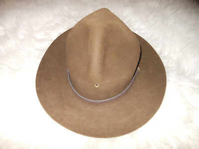 Vintage  Boy Scouts Of America Official Hat- Campaign Calvary Style