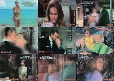 Woman Of James Bond In Motion 2003 Base Card Set Of 63 & Checklist Movie