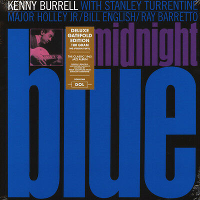 Kenny Burrell - Midnight Blue Gatefold Sleeve  (Vinyl LP - 2017 - EU - Original)