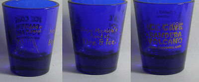 Ice Cave Bandera Volcano New Mexico Land Of Fire & Ice Shot Glass #1558